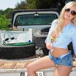 Amy Green – Sexy Truck Cowgirl - 10