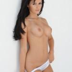 Gemma Massey – Cute In White Bra And Knickers - 8