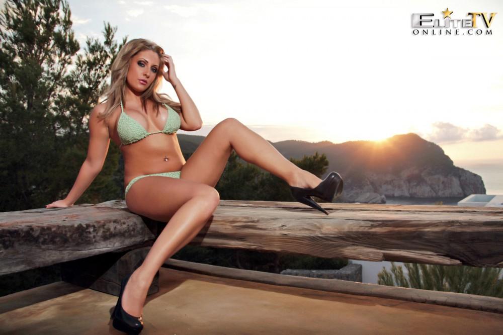 Ashley Emma – Lime Bikini