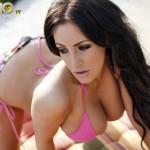 Ashley Emma – Pink Bikini - 9