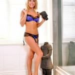 Becky Roberts – Blue Bra - 7