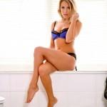 Becky Roberts – Blue Bra - 12