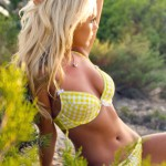Becky Roberts – Yellow Bikini - 3