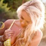 Becky Roberts – Yellow Bikini - 7