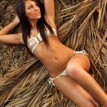 Charlie Oneal – White Bikini - 9