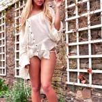 Charlie Oneal – White Skirt - 4
