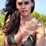 Clare Richards – Green Bikini - 9