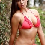 Clare Richards – Red Bikini - 1