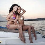 Dionne Daniels And Mica Martinez On The Boat - 0