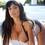 Fernanda Ferrari Wet At The Pool - 22