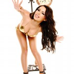 Gemma Massey – Golden Bikini - 14
