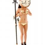 Gemma Massey – Golden Bikini - 15