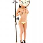 Gemma Massey – Golden Bikini - 16