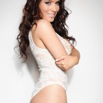 Kelly Andrews Strips From Her White Bodysuit - 2