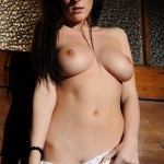 Lauren Wood – White Bodysuit - 21