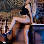 Lori Buckby – Black Tight Skirt - 3