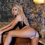 Lori Buckby – Black Tight Skirt - 5