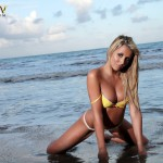 Rachel Louise – Yellow Bikini - 5