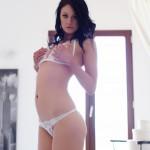 Sam Kellett – Sexy White Lingerie On My Bed - 0