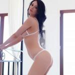 Sam Kellett – Sexy White Lingerie On My Bed - 5