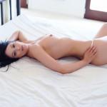 Sam Kellett – Sexy White Lingerie On My Bed - 17