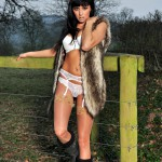 Sammi Jo – White Bra And Panties - 3