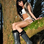 Sammi Jo – White Bra And Panties - 10