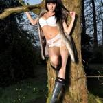 Sammi Jo – White Bra And Panties - 14