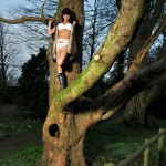 Sammi Jo – White Bra And Panties - 15