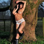 Sammi Jo – White Bra And Panties - 19