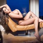 Ashley Emma – Black Thong - 10