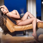 Ashley Emma – Black Thong - 11