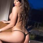 Ashley Emma – Black Thong - 14