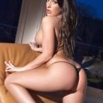 Ashley Emma – Black Thong - 15