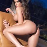 Ashley Emma – Black Thong - 16
