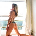 Becky Roberts – Topless By The Window - 20