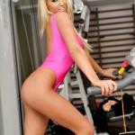 Cara Brett – Pink Spandex - 4