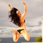 Caty Cole – Black Bikini - 22