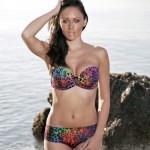 Clare Richards – Colorful Bikini - 0