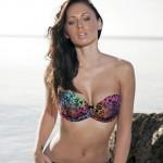 Clare Richards – Colorful Bikini - 1