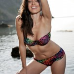 Clare Richards – Colorful Bikini - 4
