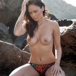 Clare Richards – Colorful Bikini - 20