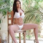 Flame Emmin – Flame Strips Naked From Her White Bikini - 1