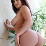 Flame Emmin – Flame Strips Naked From Her White Bikini - 17