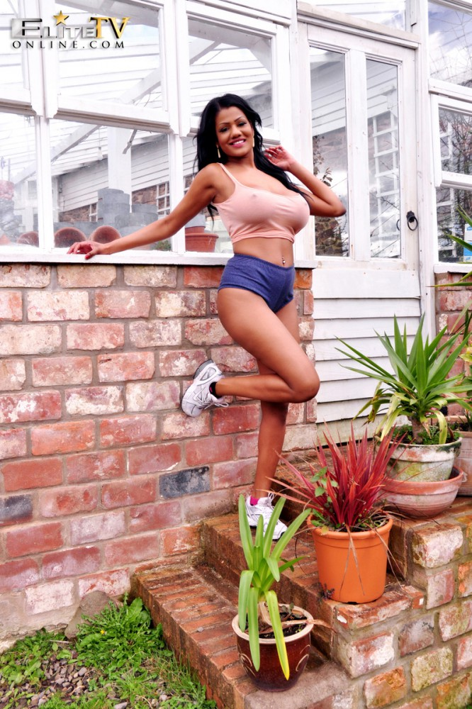 Sophia Lares – Red Brick Wall