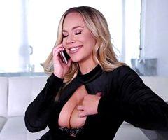 Busty blonde bombshell Olivia Austin gets an intense sex