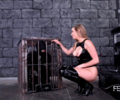 caged slave