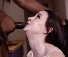 Chanel Preston Gets A Cock Wedged In Her Throat
