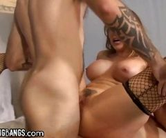 Chanel Preston Gets Gangbanged And Double-Anal Destroyed
