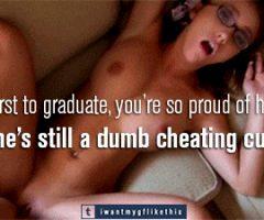cheating caption